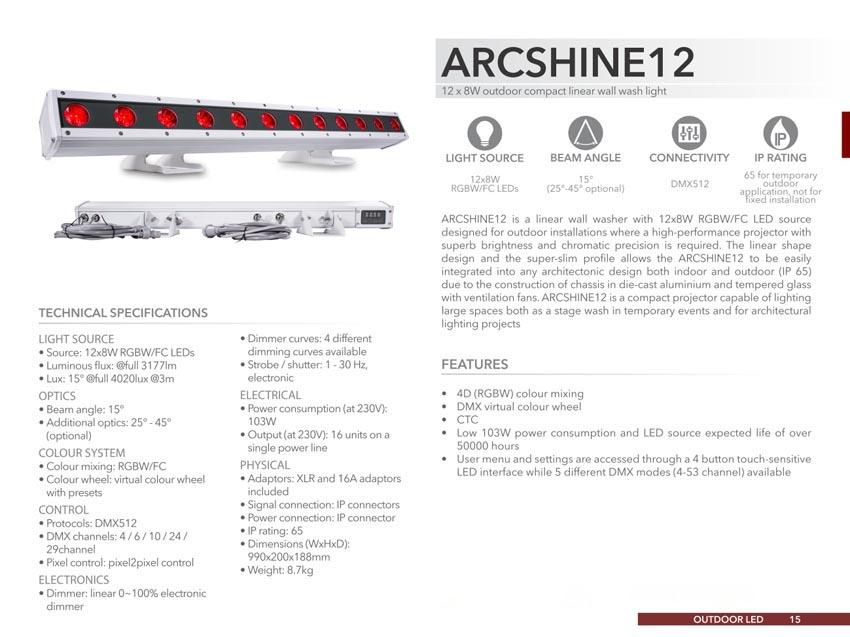 ARCSHINE12 - M & L Company