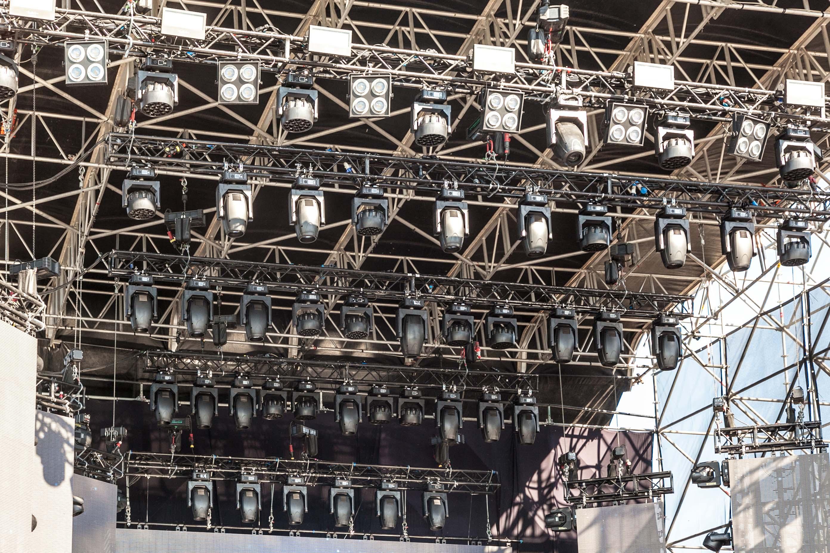 """Prolights rocks in """"Battiti Live 2017"""""""