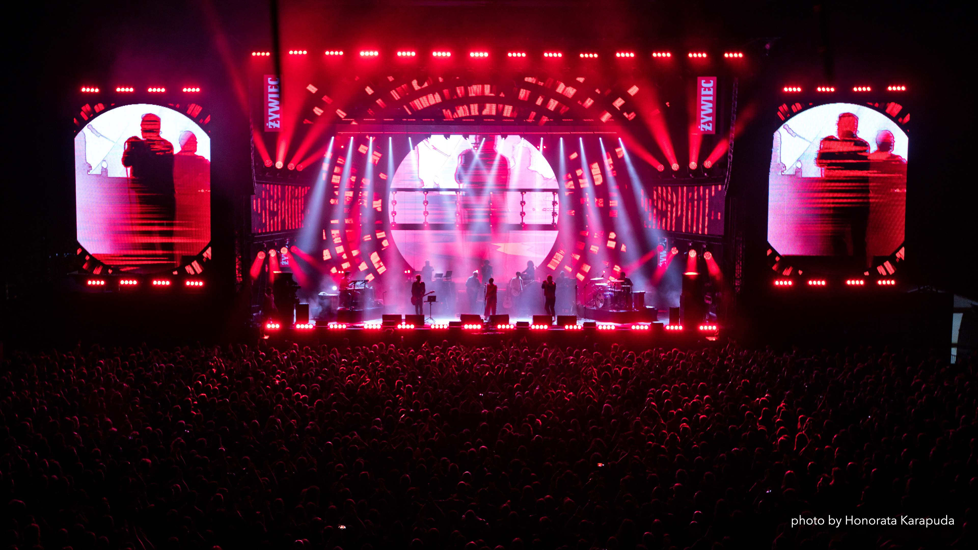 New Prolights fixtures makes an outstanding debut at Zywiec Meskie Granie in Poland